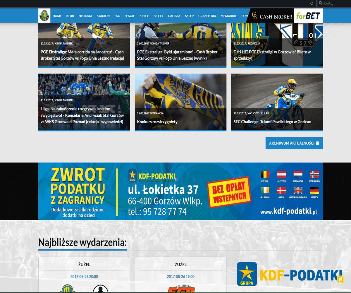 KDF Elitarny Sponsor Stali Gorzów Stal Gorzów Stadion Stal Gorzów Żużel Stal Gorzów Sparingi 2017