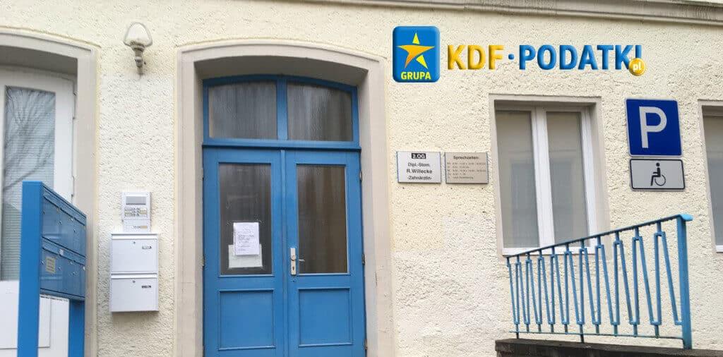 Frankfurt Zwrot Podatku z Zagranicy Niemcy Kindergeld KDF Podatki