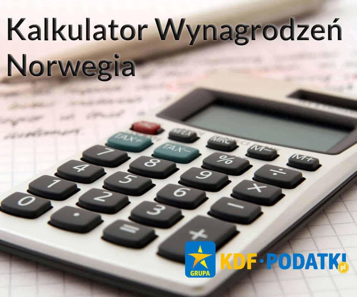 Kalkulator Wynagrodzeń Norwegia KDF Podatki Gorzów Wlkp.