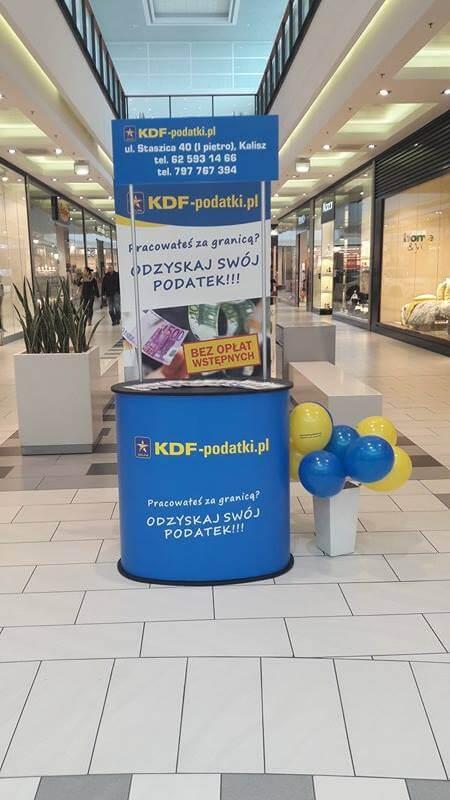 Kampania Reklamowa w Kaliszu - Zwrot Podatku z Zagranicy