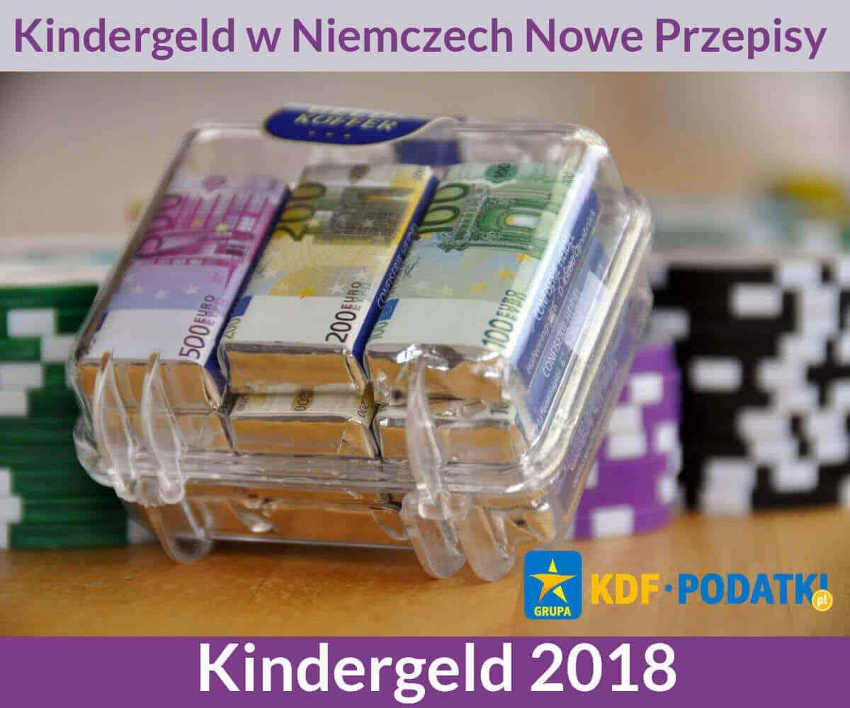 KDF Podatki Gorzów Wielkopolski Kindergeld w Niemczech Nowe Przepisy