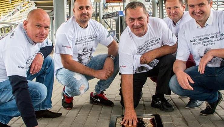 Mieczysław Woźniak - Tablica Stal Gorzów