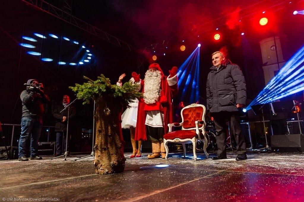 Święty Mikołaj w Białymstoku
